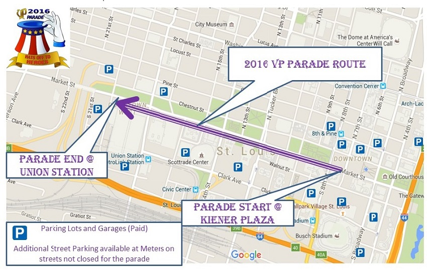 2016 VP Parade Parking Map 06 21.16