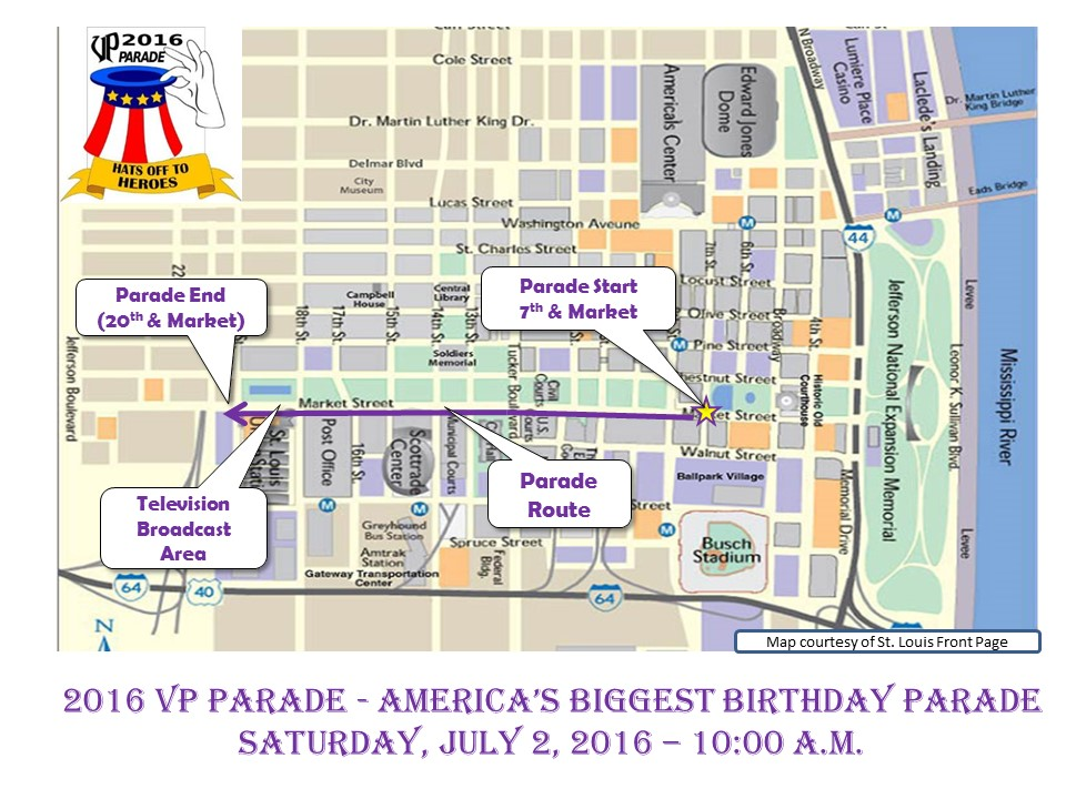 VP Parade Route Map 04 13 16
